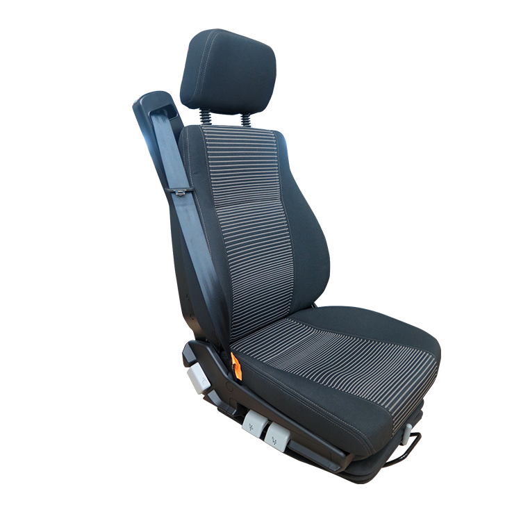 TS021-Truck Pneumatic Air Suspension Seat with Integrated Seat Belt